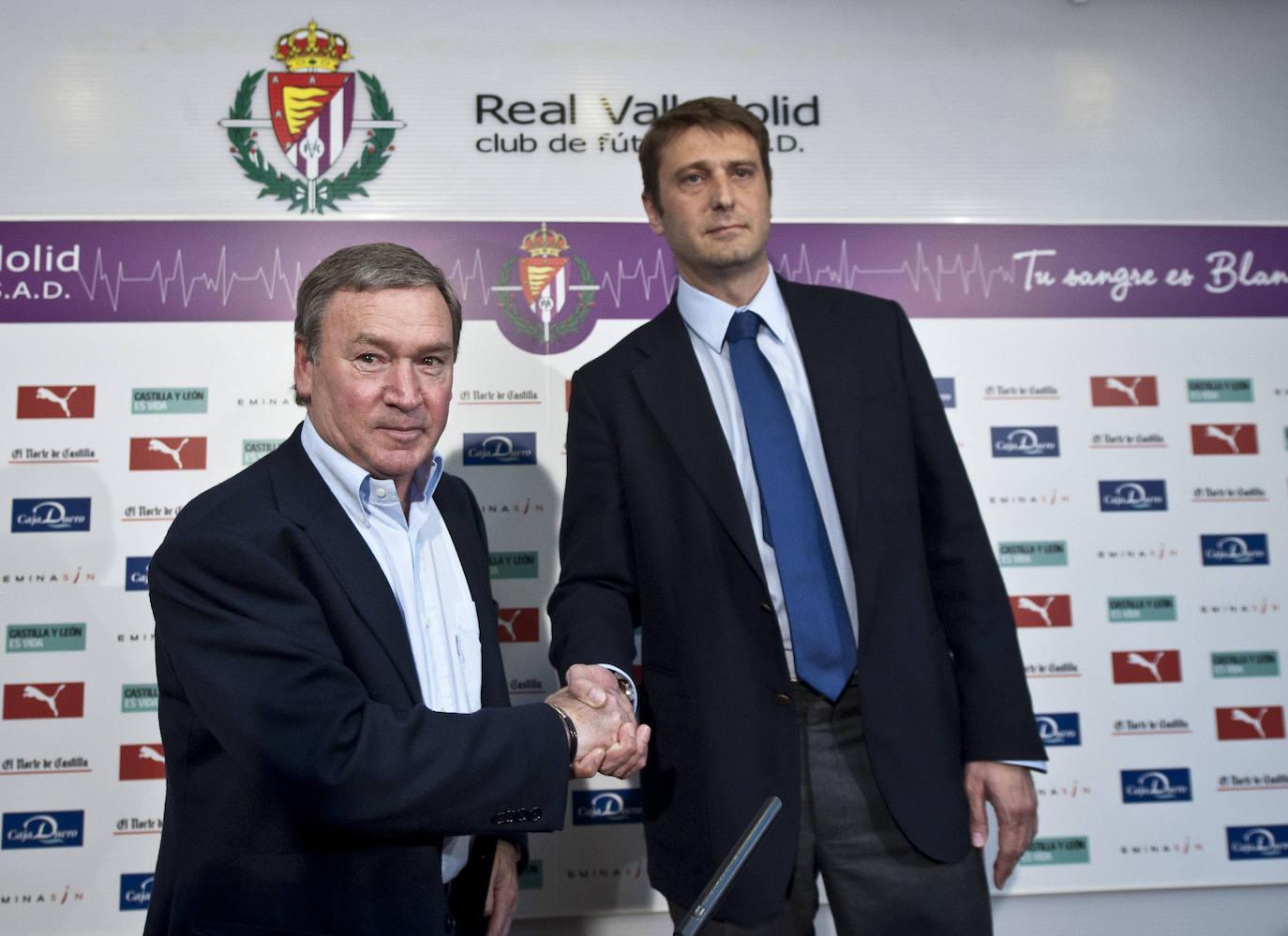 Carlos Suárez, en el Real Valladolid (2001-2019)