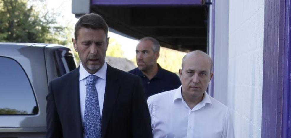 Carlos Suárez dimite en el Valladolid
