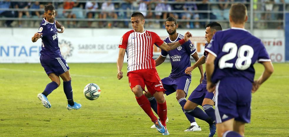 El Real Valladolid debuta ante el Betis con dudas en defensa