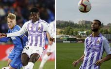 Joaquín y Salisu se disputan un puesto de titular en el Real Valladolid ante el Betis
