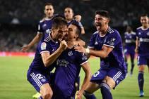 Guardiola y Plano dan los tres primeros puntos al Real Valladolid (1-2)