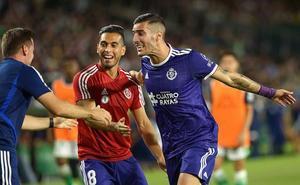 Sergi Guardiola, el mejor del Real Valladolid ante el Betis