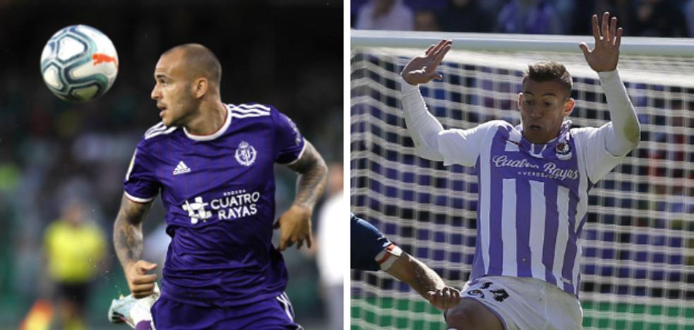 El Real Valladolid pierde a Sandro y Alcaraz para un mes