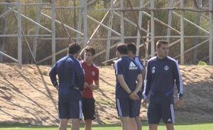 Hervías se retiró antes de tiempo del entrenamiento del Real Valladolid