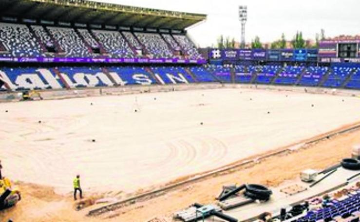 Así avanzan las obras del Nuevo Estadio José Zorrilla