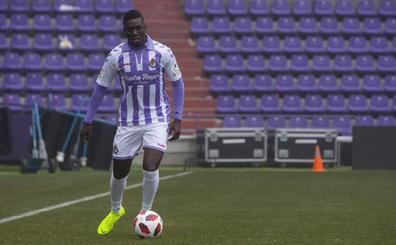 El Real Valladolid quiere que Stiven Plaza juegue en el Promesas