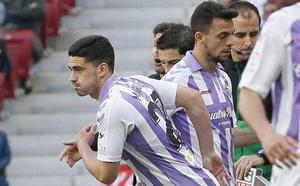 Miguel ocupa el hueco de Sandro en la convocatoria del Real Valladolid para visitar el Bernabéu