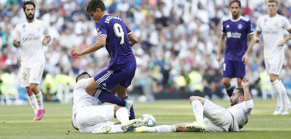 De guante blanco el partido del Real Valladolid