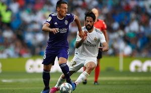 Repóker de debutantes en el Bernabéu