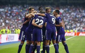 El Real Valladolid rescata un punto de la nada
