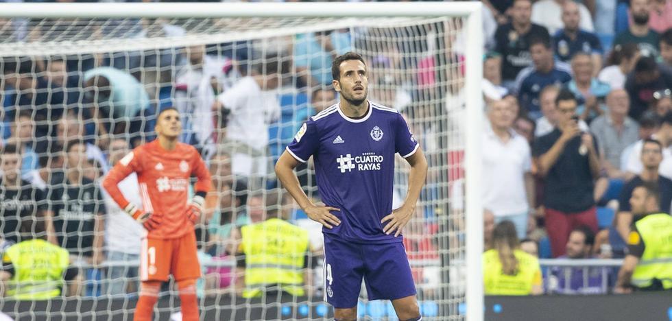 Kiko Olivas, el mejor, sostuvo al Real Valladolid desde atrás