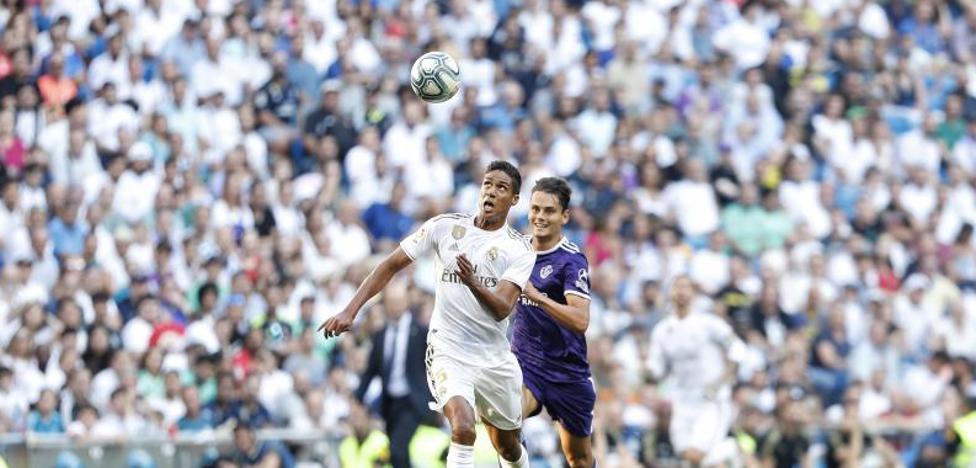 El Real Valladolid suma un punto en el Bernabéu por una genialidad de Óscar Plano