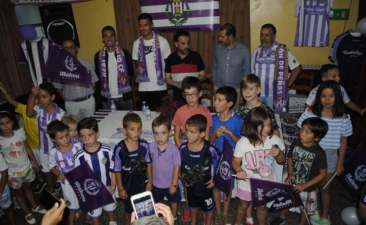 Nueva peña del Real Valladolid en Tordehumos