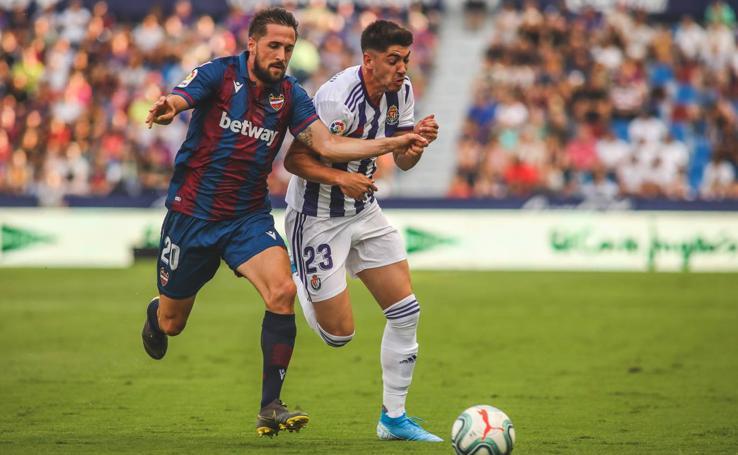 Las imágenes del partido Levante 2- 0 Real Valladolid