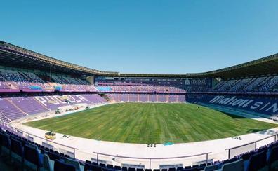 El estadio Zorrilla ya tiene césped a 14 días del debut del Real Valladolid como local