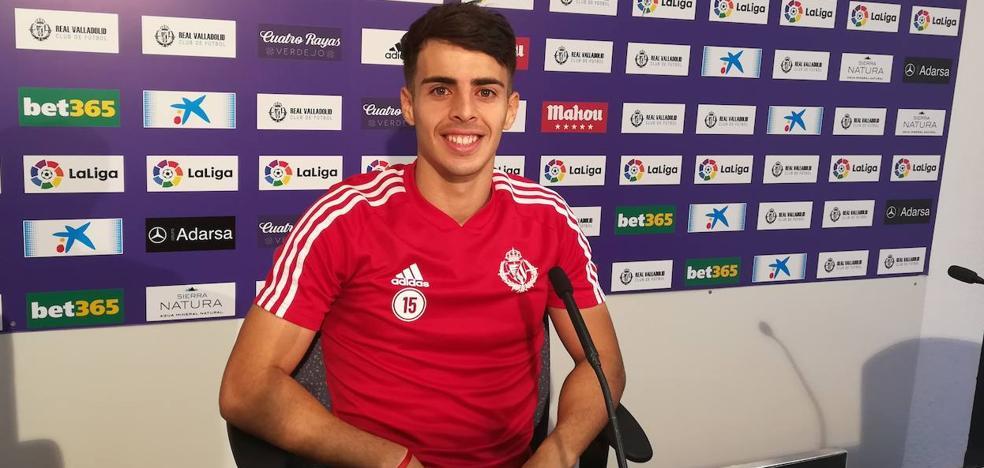 Álvaro Aguado: «Esto es muy largo, va a haber minutos para todos y yo confío mucho en mí»