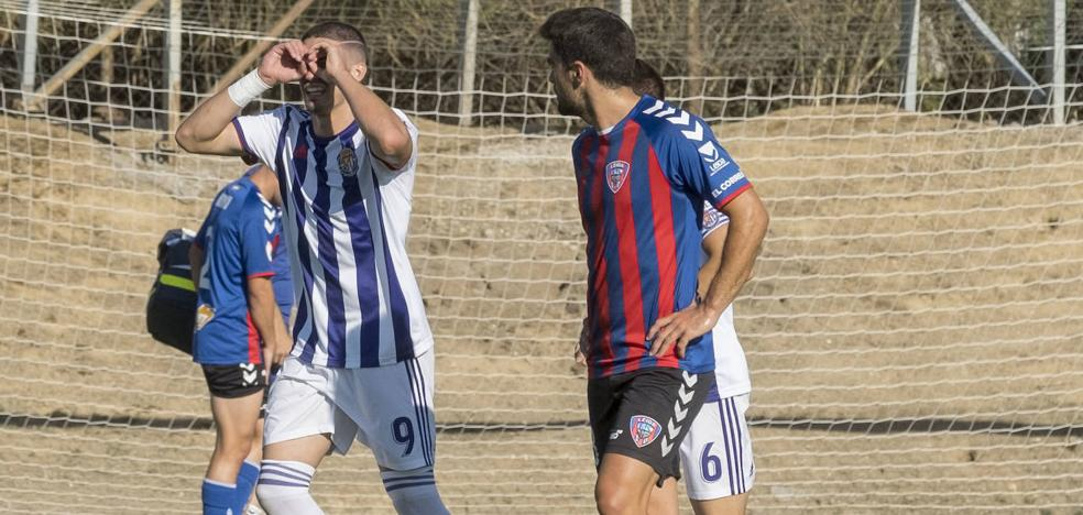El Real Valladolid Promesas suma con sufrimiento su segunda victoria como local