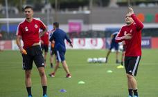 El Real Valladolid regresa a los entrenamientos con Sandro, Alcaraz y Moyano a pleno rendimiento