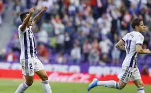 Un punto más para el Real Valladolid y otro gol para guardar en la retina