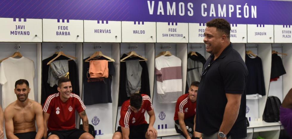 El Real Valladolid presenta a su masa social sus nuevas credenciales