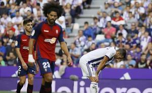 El sufrimiento del Real Valladolid en casa