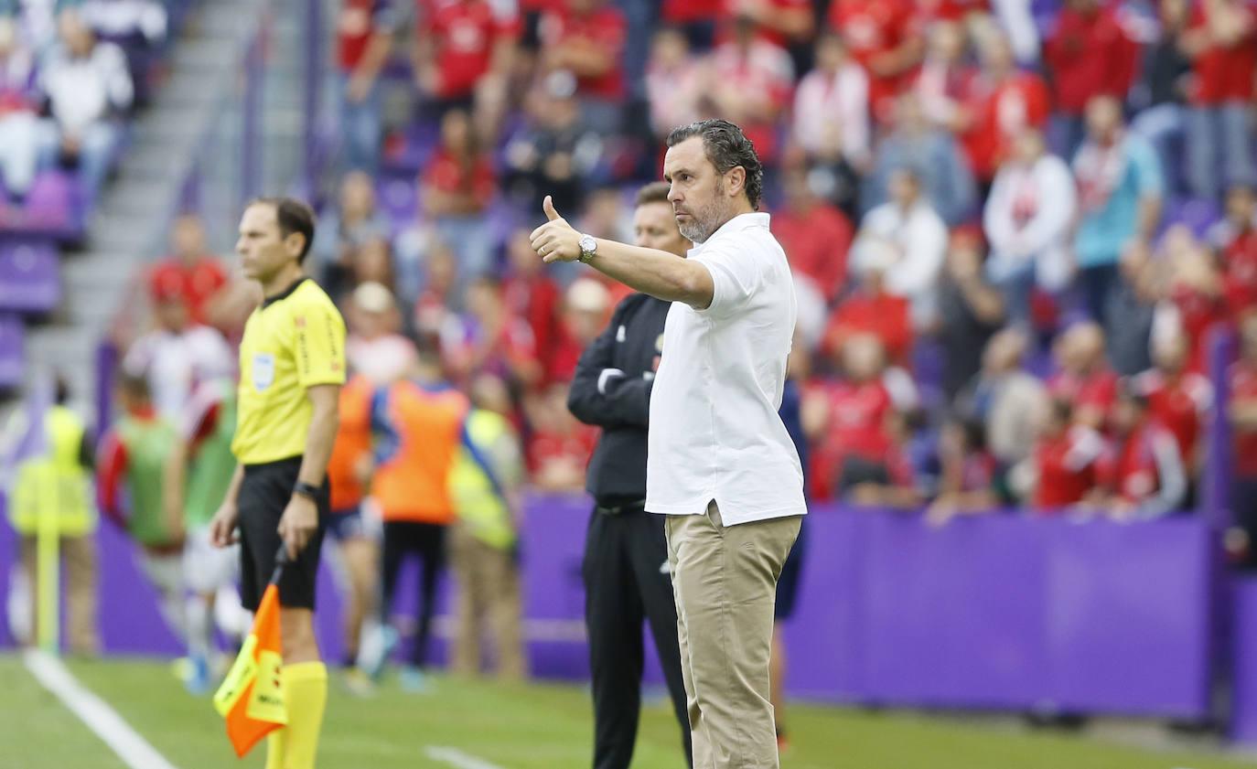 Sergio: «Un punto siempre es un punto. Osasuna está haciendo bien las cosas»