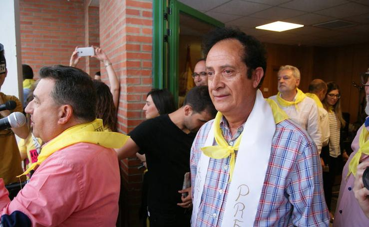 Pregón y desfile de peñas fiestas de La Flecha (1/3)