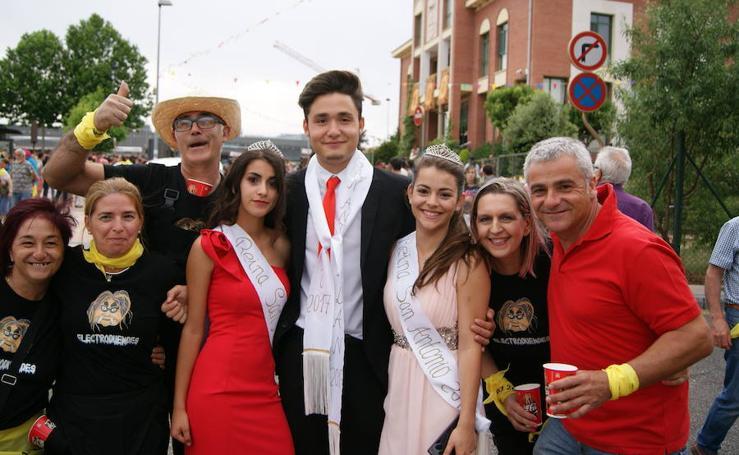 Pregón y desfile de peñas fiestas de La Flecha (3/3)
