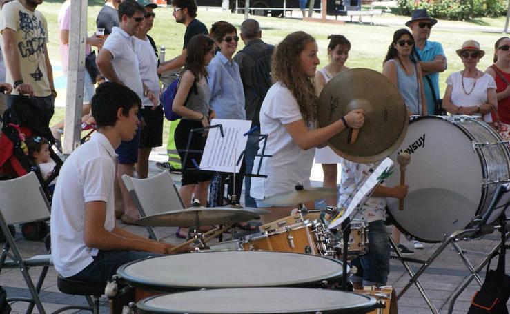 Concierto Banda Infantil de Arroyo fiestas de La Flecha