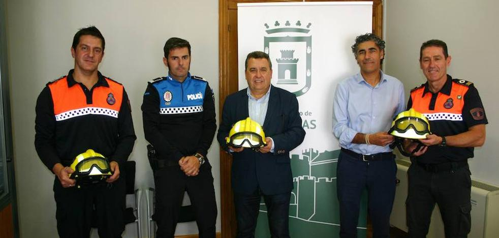Arroyo y Simancas firmarán un convenio para compartir los voluntarios de Protección Civil