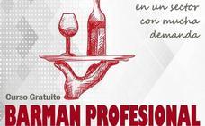 Curso gratuito de Barman Profesional para desempleados y autónomos