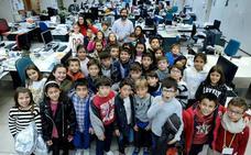 Nuevos aprendices de periodista en El Norte