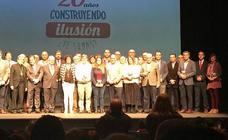 Arroyo recibe un reconocimiento de la Fundación Aldaba y Proyecto Hombre en reconocimiento a la solidaridad de sus vecinos