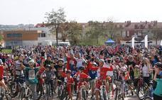 Un millar de personas participan en el XII Día de la Bici de Arroyo