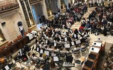 Impresionante concierto de la Banda Juvenil de Arroyo en San Sebastián