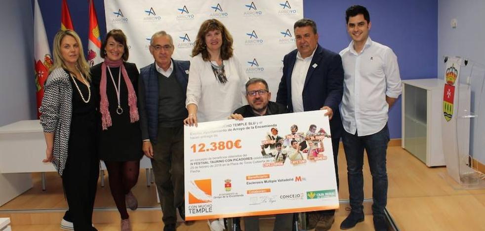 12.380 euros a favor de enfermos de esclerosis múltiple