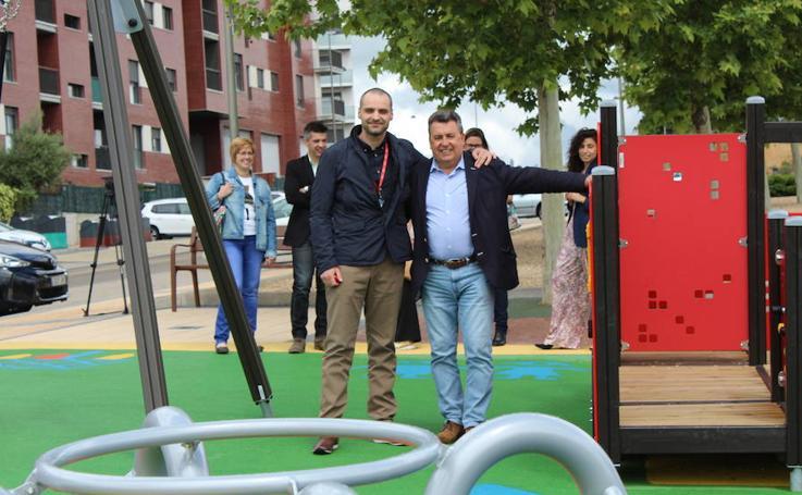 Inauguración parque infantil concurso de reciclaje de RÍO Shopping