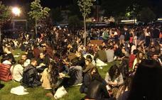Ambiente en la noche del sábado en La Flecha. Fiestas de San Antonio