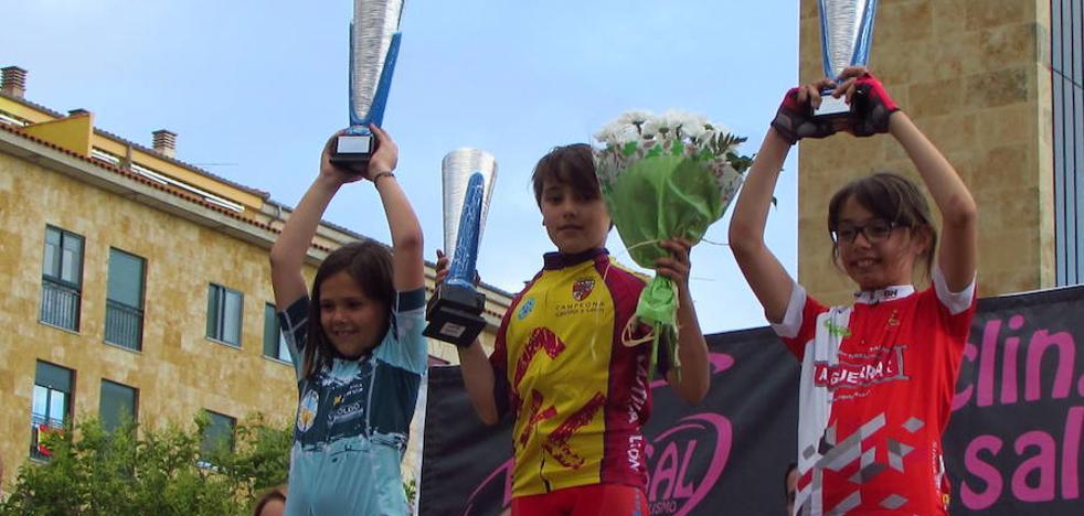 Lluvia de medallas en los campeonatos de ciclismo de Castilla y León