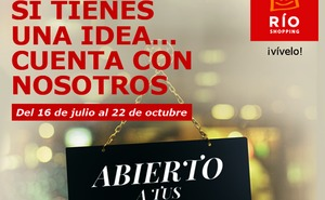 RÍO Shopping apoya el talento emprendedor con un nuevo concurso en colaboración con CVE