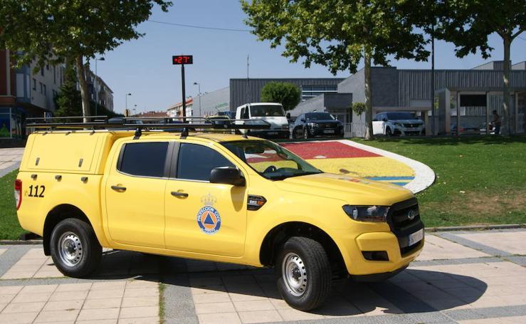 Entrega nuevo vehículo Protección Civil de Arroyo