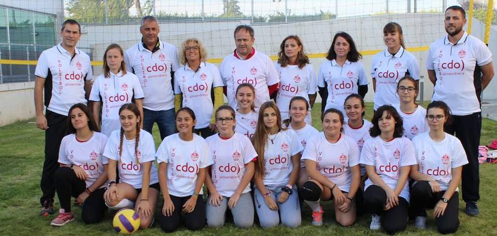Voleibol Arroyo y CDO Almendrera unen sus fuerzas