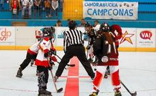 El Club Hockey Línea Arroyo debuta con sendas victorias en la Liga Oro Regional Alevín