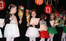 Entrega de becas de la Escuela Municipal de Danza