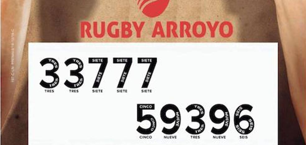 Error en el número de Lotería de Navidad del Club de Rugby Arroyo