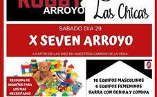 El Rugby Arroyo celebra este sábado la décima edición de su torneo de Rugby 7 Solidario