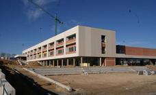 Visita obras nuevo instituto de Arroyo