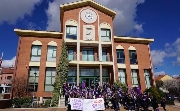 Manifestación Día de la Mujer Trabajadora en Arroyo de la Encomienda