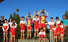 Cinco medallas del equipo Collosa en los Campeonatos de Castilla y León de BTT