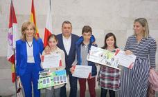 Arroyo entrega los premios del concurso de emprendimiento escolar